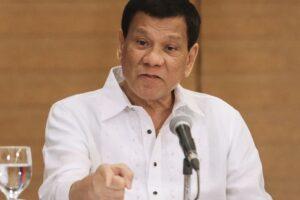 Duterte Mengatakan Untuk ICC Jangan Mencampuri Urusan